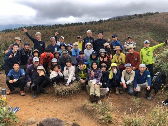2019年10月一般募集により参加された人達と供に「取立山」へ行きました。