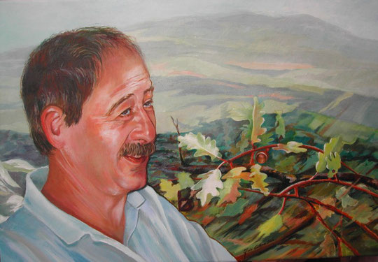 Javi Amiama. 73 x 54 cm. Acrílico. 2006