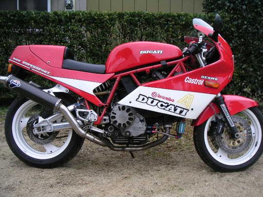 DUCATI 900SS(89)