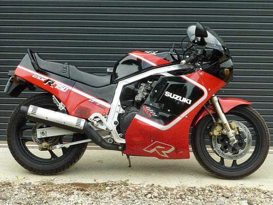 GSX-R750 油冷 初期型