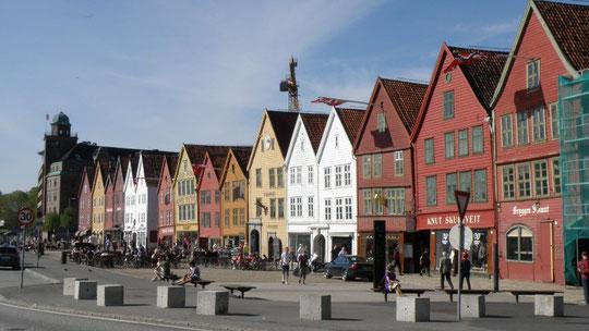 Handelsviertel Bryggen