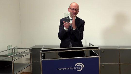 Lucas Flöther, Chair of Gravenbrucher Kreis