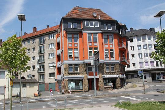 In diesem Haus Rathausstr. 39 hat die Beratungsstelle ab dem 27.5.2013 ihre neue Bleibe gefunden