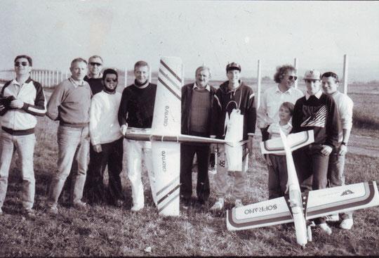 Le club en 1990