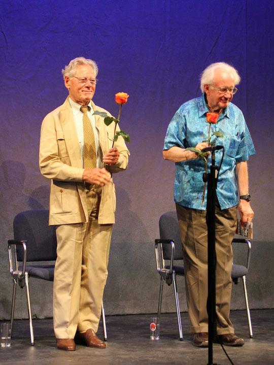 Prof. Hans Küng in LTT-Tübingen, Tübingen, Germany, 16.07.2011, Canon EOS 550d. Foto: Eleonore Schindler von Wallenstern.