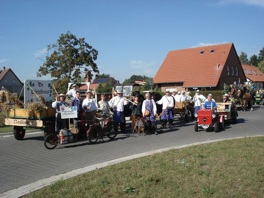 """""""De Dörpstroat"""" beim 825-Jahr-Umzug in Arendsee 2009"""
