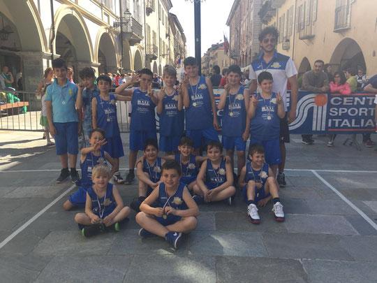 L'Under 10 CSI Centallese 3^ a Cuneo