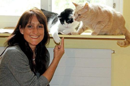 Nicole Rudin, Rudin Tierberatung und Katzen-Hotel Müsli