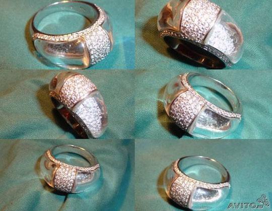 Серебряные кольца, браслеты, серьги и подвески,