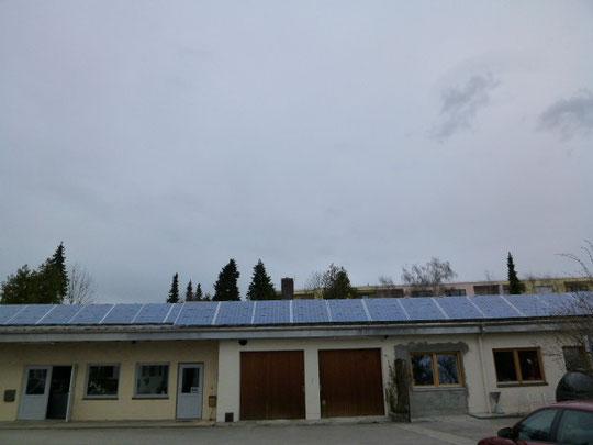 Amperhof die erste Bürgersolar Anlage in Olching