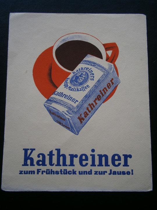 Werbung 1929
