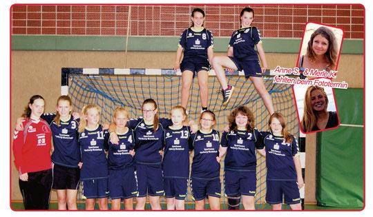 Weibliche C-Jugend - Saison 2014/15- Jahrgang 2000/01