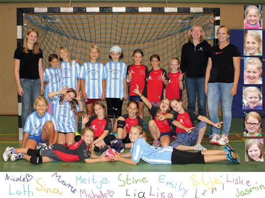 Weibliche E-Jugend - Saison 2015/16 - Jahrgang 2005/06