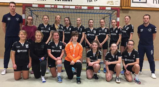 Weibliche C-Jugend - Saison 2017/18 - Jahrgang 2003/04