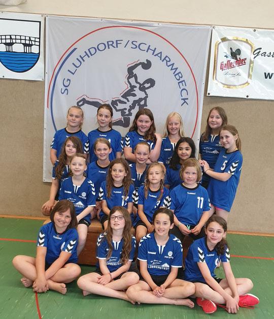 Weibliche E-Jugend - Saison 2017/18 - Jahrgang 2007/08