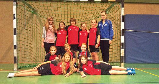 Weibliche E-Jugend - Saison 2012/13 - Jahrgang 2002/03