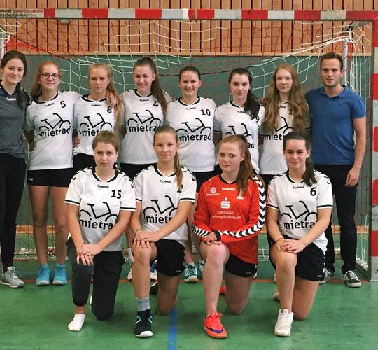 Weibliche B-Jugend - Saison 2016/17 - Jahrgang 2000/01