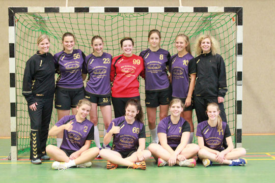 Weibliche B-Jugend - Saison 2012/13 - Jahrgang 1996/97