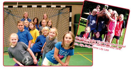 Weibliche E-Jugend - Saison 2014/15 - Jahrgang 2004/05