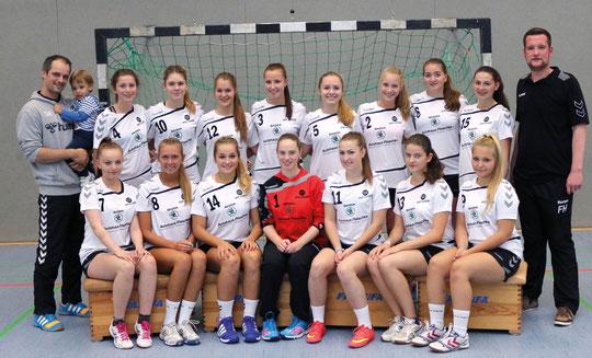 Weibliche B-Jugend - Saison 2015/16 - Jahrgang 1999/2000