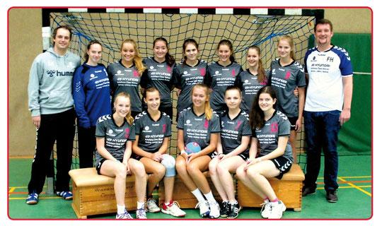Weibliche B-Jugend - Saison 2014/15 - Jahrgang 1998/99