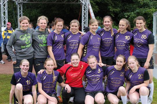 Weibliche B-Jugend - Saison 2011/12 - Jahrgang 1996