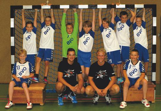 männliche D-Jugend - Saison 2013/14 - Jahrgang 2001/02