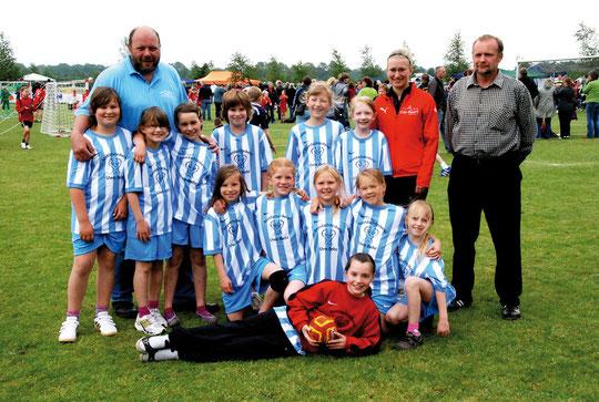 Weibliche E-Jugend - Saison 2011/12 - Jahrgang 2001/02