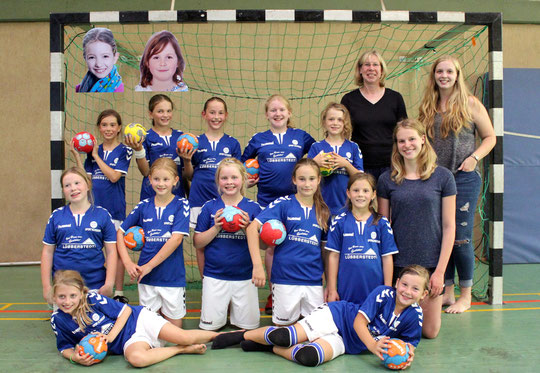 Weibliche E-Jugend - Saison 2016/17 - Jahrgang 2006/07