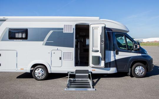 Reisemobil für Menschen mit Mobilitätseinschränkung, Reha Camper, behindertengerechte Wohnwagen, Sodermanns