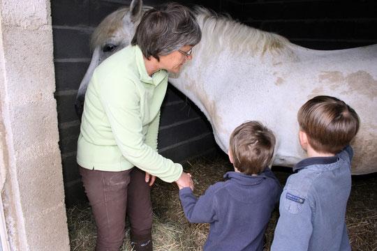 Les enfants comprennent  certaines règles de vie primordiales à leur évolution : le respect, la patience et le partage.