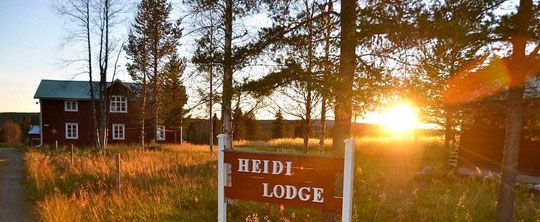 Heidi Lodge - Ferien in Lappland