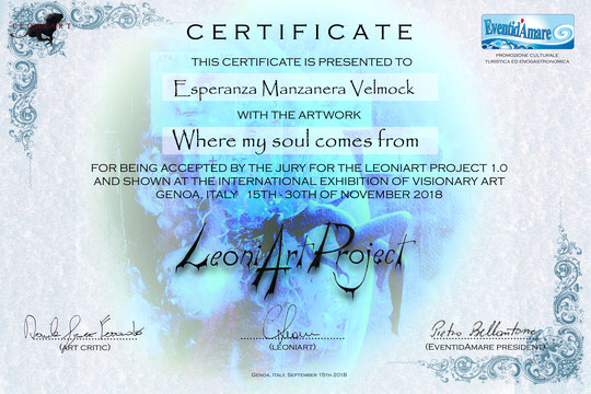 LeoniArt Project, International Contemporary Art Exhibition, postphotography, art, velmock, certification