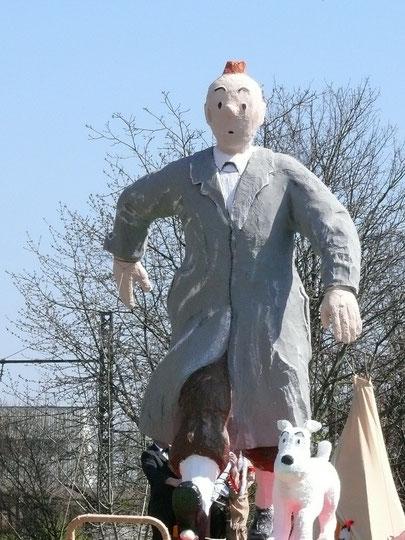 Statue de Tintin