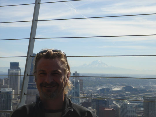 Truni auf Space Needle