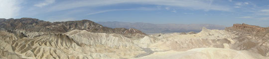 Panorama Zabriskie Point (Death Valley)