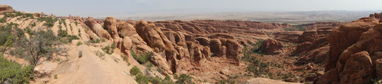 Panorama Arches N.P. (ohne Arches :-))