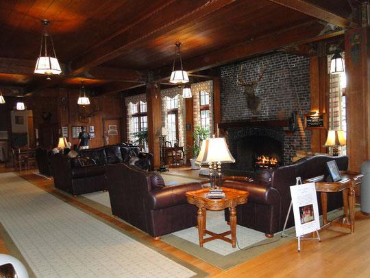 Lobby der Lake Quinault Lodge