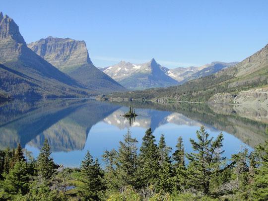 Saint Mary Lake (Glacier N.P.)