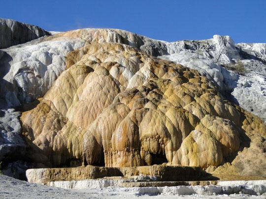 Aurora Terrace, Mammoth Hot Springs (Yellowstone N.P.)