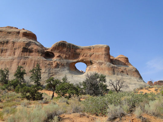 Tunnel Arch (Arches N.P.)