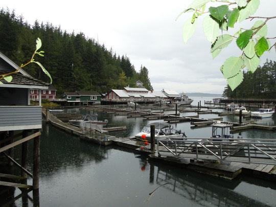 Telegraph Cove - ein Fischerdorf wie man sichs vorstellt