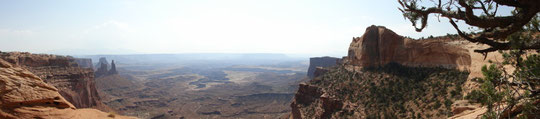 Panorama Buck Canyon Overlook, Island in the Sky District (Canyonlands N.P.)