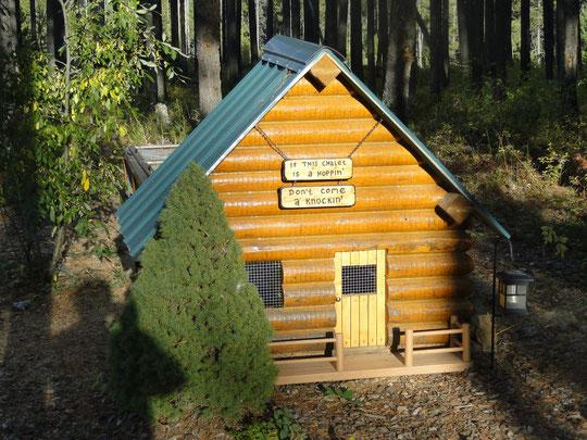 auch die Häschen haben ihr eigenes Cabin