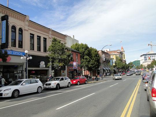 Downtown Victoria (Hauptstadt British Columbia)