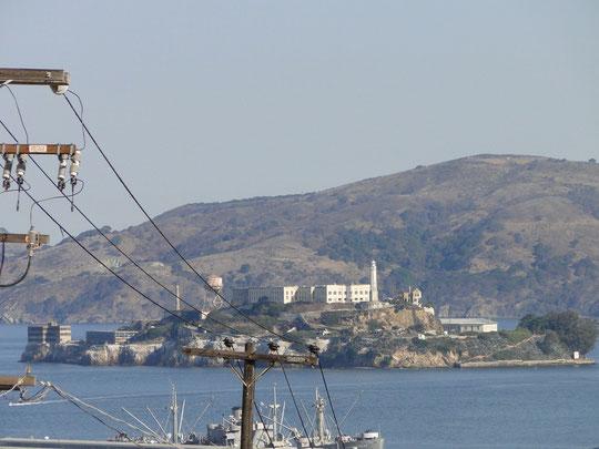 Alcatraz etwas schärfer wie gestern (S.F.)