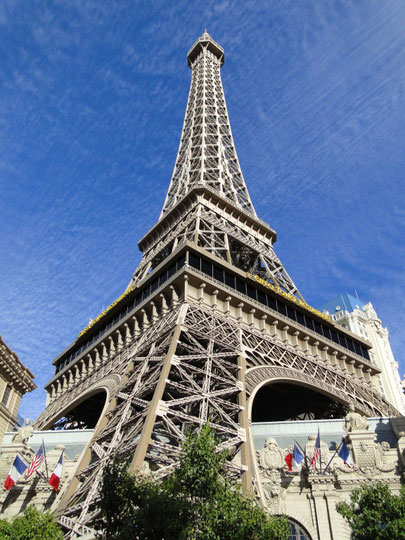 Paris in Las Vegas (halb so gross wie das Original)
