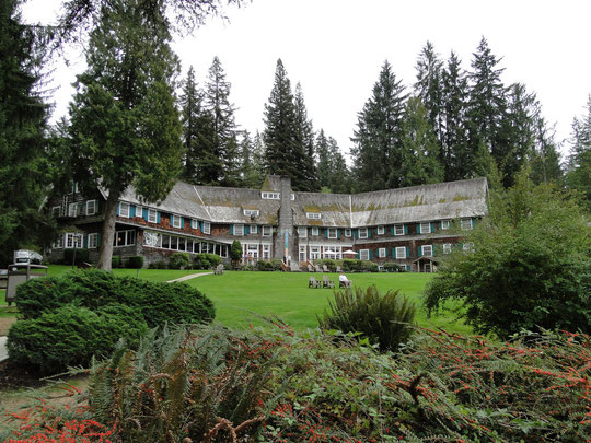 Lake Quinault Lodge - unsere heutige Bleibe