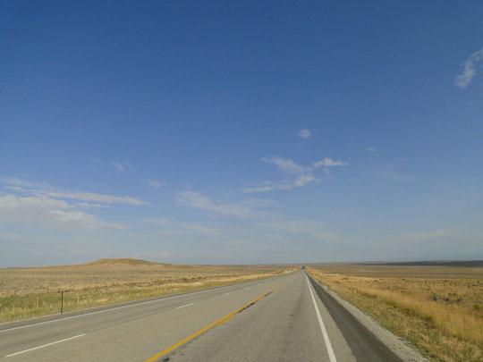 Prärie in Wyoming