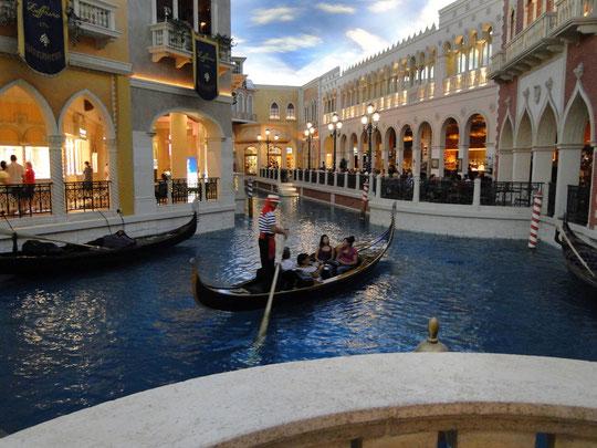 alles Fake (Hotel Venetian in Las Vegas)